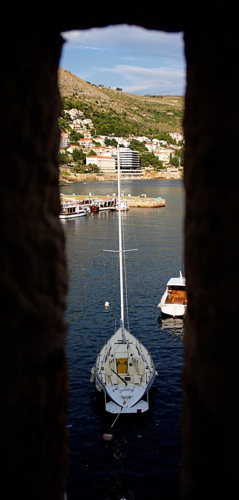 Boat through the Wall