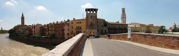 Archway into Verona