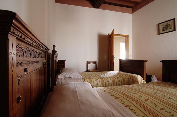 Beds at Villa Cavaglioni