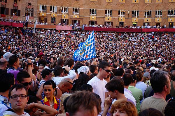 Crowd Watching the Palio