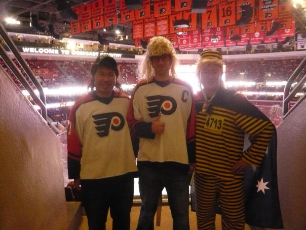 Wayne, Garth, and Bee Boy