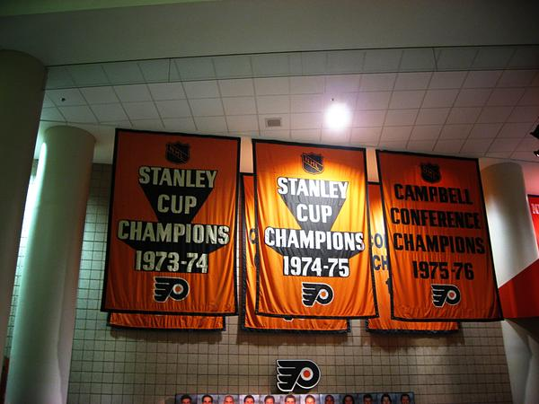 Flyers Stanley Cup Banners