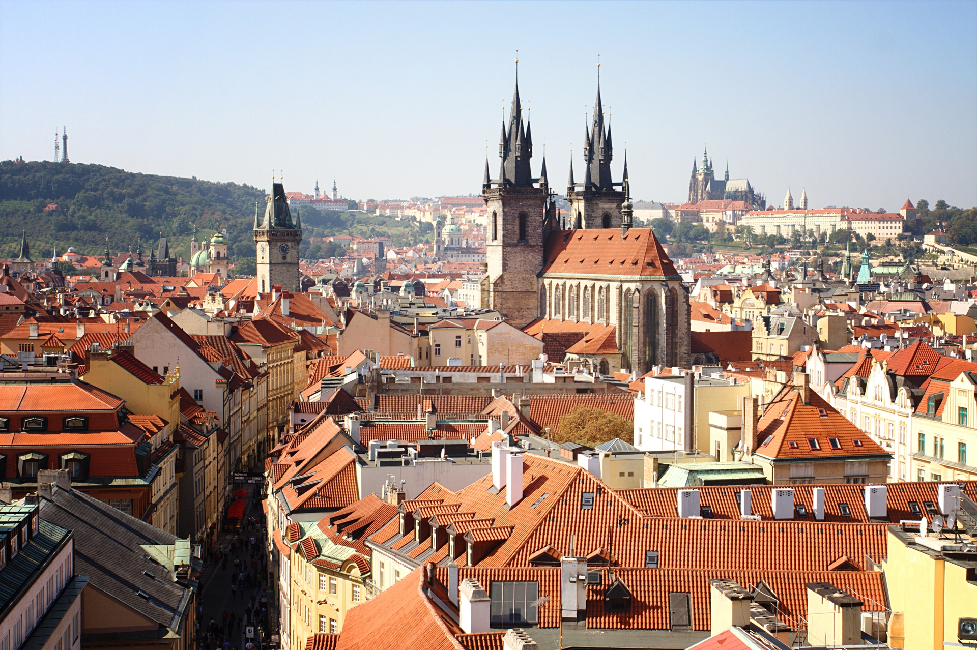 prague for a weekend this timeless moment