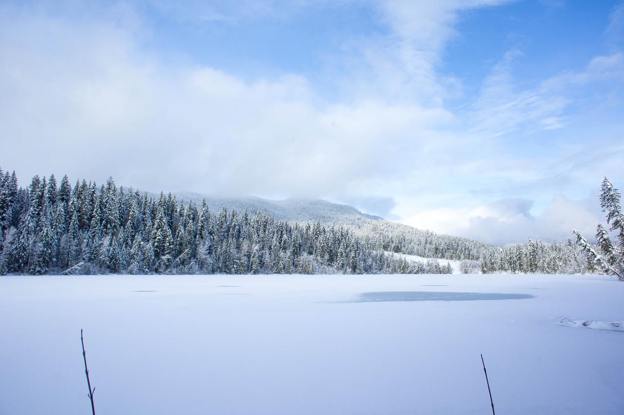 More Sunshine at Snowshoe Lake
