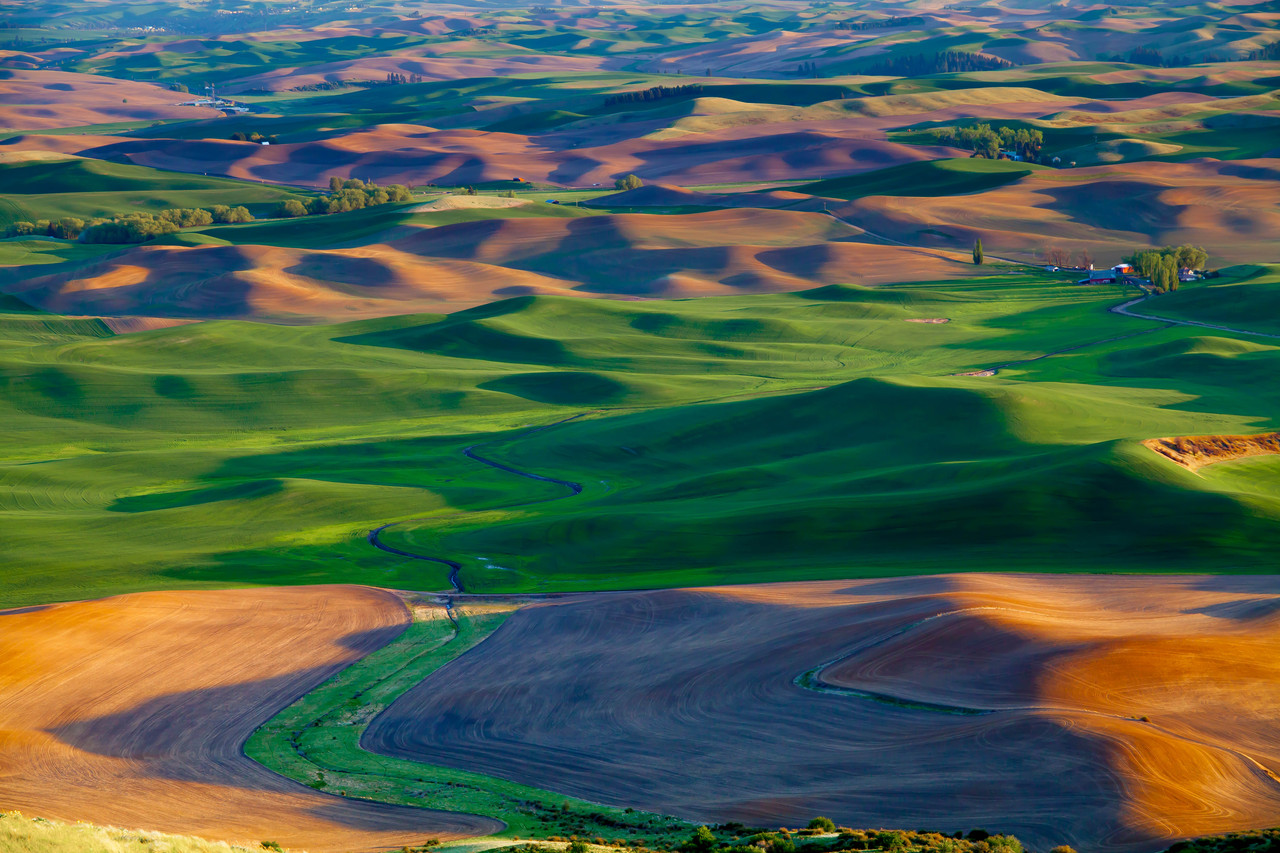 Stream from Steptoe Butte